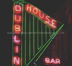 Voyant néon de panneaux de publicité pour le Bar