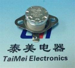 Thermostat-kleiner Haushalts-elektrisches Gerät des Thermostat-Ksd301 bimetallischer der Produkt-16A 125V