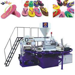 Le Rotary en PVC de couleur unique/TPR pantoufles Making Machine