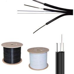 prix d'usine Indoor 2 Core réseau de fibre optique FTTH drop câble G657D'une fibre