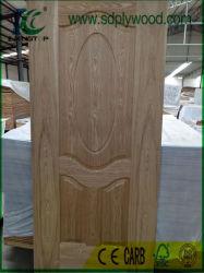 De houten Eiken Huid van de Deur HDF van /Teak Vernisje Gevormde de Markt voor van Irak, het Midden-Oosten