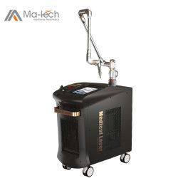 Pico第2レーザーまたはピコ秒レーザー500PS/ND YAGのQによって切替えられる入れ墨の取り外しの/Pigment/Melasmaの取り外しレーザーの美機械