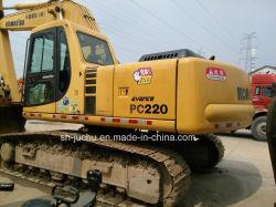 使用された小松PC220-6のクローラー掘削機(PC200-7 PC300-7 PC200-6)