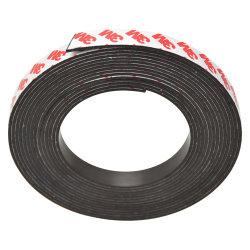 Bande de l'aimant de bandes magnétiques souples en caoutchouc avec adhésifs de 3m