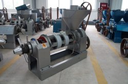 Yzyx10wk temperaturgeregelte Ölpresse-Maschine, die reibendes Sojaöl zerquetscht