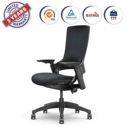 조정가능한 본사 컴퓨터 책상 검정 (247-C BF)를 위한 고도에 의하여 덮개를 씌우는 회전대 회전하는 행정상 의자