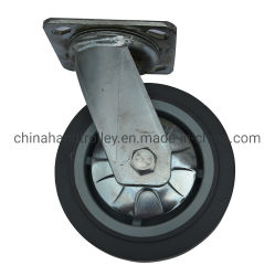 Загрузка для тяжелого режима работы TPR с другой стороны для складов самоустанавливающегося колеса погрузчика