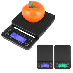 Домашняя продовольственной кофе шкала цифровой таймер кухонные весы для взвешивания кофе