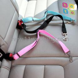 Cintura di sicurezza registrabile dell'automobile della tessitura dei guinzagli di nylon dell'animale domestico per il cane