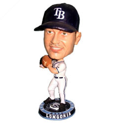 Figurines decorativi di Bobblehead del giocatore di baseball della resina per la decorazione domestica