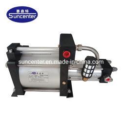 Suncenter Air-Driven Gás isentos de reforço para o fornecimento de gás de alta pressão.