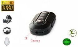 Portable 1920x1080p Chaîne de clé de voiture caméra Mini DV T4000 Enregistreur vidéo de nuit IR LED caméra sans fil
