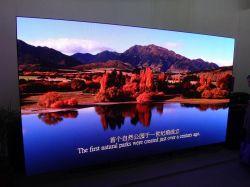 Energiesparende farbenreiche Bildschirmanzeige-Innenanschlagtafel LED-P3
