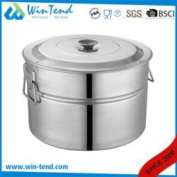Venta caliente portátil de almacenamiento de acero inoxidable olla Stock