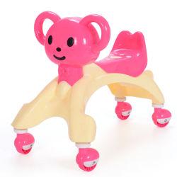 As crianças primeiro carro de aprendizagem das crianças Musical Torça Walker roda da polia de brinquedo Aluguer de carro de passeio para bebês de Giro no carro