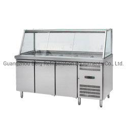 Le matériel de réfrigération Salad Bar Réfrigérateur/congélateur