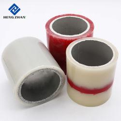 40um/50um/60um/70um/80um/100um Wholesale adhesivo plástico azul transparente Black-White PE películas protectoras para la protección de superficie temporal