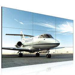 """46、49、55 """"インチのビデオ壁のコントローラ、壁の台紙および床の立場オプションの極度の狭い斜面LCDのビデオ壁"""