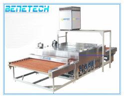 Glas-Reinigung und trocknende Maschine horizontal