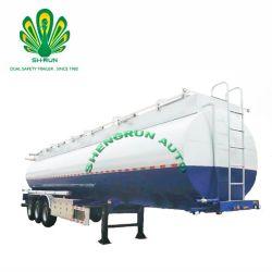 Koolstofstaal 50cbm Aanhangwagen van de Vrachtwagen van de Tanker van de Brandstof van de Tank van de Olie de Semi met Adr