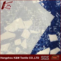 92% de poliéster 8% Spandex 100d de 4 vias impressas tecido stretch Tecidos de malha de polietileno