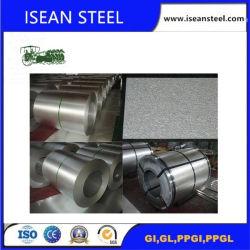 Feux d'acier galvanisé à chaud dans la bobine, la couleur de toiture en zinc recouvert de feuille, rouleau de Zinc Aluminium