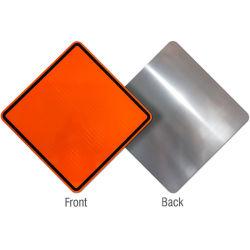Leyenda del estándar de aluminio de grado Diamante signos de construcción