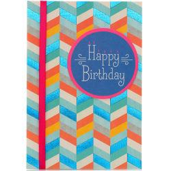 Feliz aniversário cartões de felicitações de gravação de memória musical com chip de som