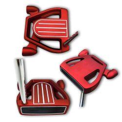 شعار مخصص أللوي ملحن الوجه مالط لعبة غولف نادي بوتر
