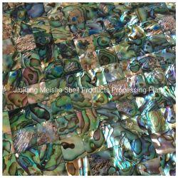 غطاء فسيفسائية طبيعي من Abalone Shell لمزين الحائط للديكور المنزلي