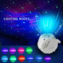 Blisslights Sky Lite-LED プロジェクタ Nebula Cloud for Game Rooms 、 Home Theater 、または Night Light Ambiance - Classic (レッド / グリーン / ブルー)