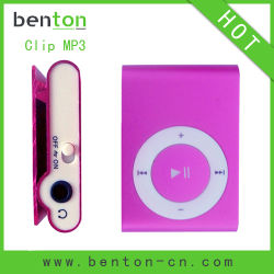 Art- und Weiseclip-MP3-Player (BT-P001)