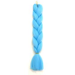 Kbeth Sky Blue mooie Brading Hair uitbreiding voor dames 2021 Fashion Colored Phythetic goede kwaliteit Goedkope Prijs Tassel Extensions in Voorraad