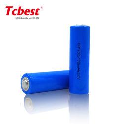 Usine non rechargeable longue durée de vieLi-Mno Primaire 3V2 Les batteries 1300mAh Batterie au lithium CR17335 pour détecteur de fumée