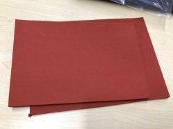 Abnutzungs-isolierende Gummiplatte-Silikon-Schaumgummi-Blatt-Gummiauflage