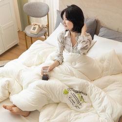 가정 제품 면 혼합 위안자 깃털 이불 매우 연약한 폴리에스테 2인용 침대