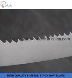 Le lamierine bimetalliche della sega a nastro di fabbricazione originale sul prezzo per il taglio di metalli e buon hanno veduto le lamierine della macchina