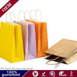 Bolsita personalizada para la boda bolsas de papel Gracias/// /regalo único partido /Panadería/ bolsas de papel con asa