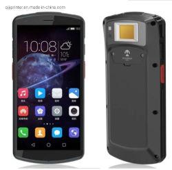 산업용 핸드형 Android 9.0 산업용 핸드헬드 단말기 데이터 스캐너 지문 판독기가 있는 S80 1D 2D 바코드 스캐너 PDA 바코드 PDA