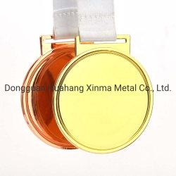 Металлические медаль Custom обрабатывающими медь, железо и цинк сплава или золота, серебра и других металлических материалов