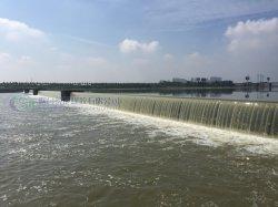 작은 수력 전기를 위한 생태학적인 압축 공기를 넣게 운영한 고무 댐