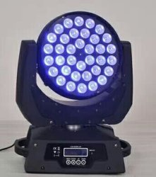 Fokussierender beweglicher Kopf des LED-Stadiums-Licht-DMX512 36PCS*12W