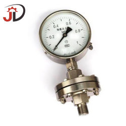 Instrument de jauges de pression en acier