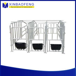 Fabriek directe verkoop Dieren bevalling Bed Farm Voedingsapparatuur Pigpen SOW Farrowing Box Pig Cage Pig Crate