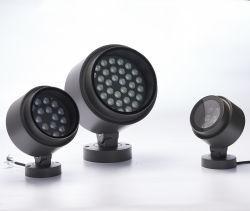 Comercial Moderna iluminación decorativa exterior impermeable color de LED de 50 vatios de faroles RGBW