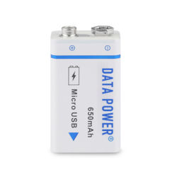 Batterie ricaricabili asciutte di Batery 650mAh 9V per la radio di orologio