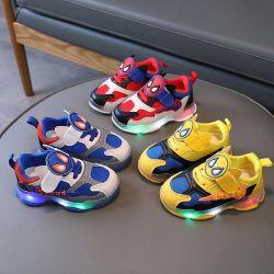 2022 New Style Kinder Leichte Schuhe Sport Schuhe Kinder Schuhe