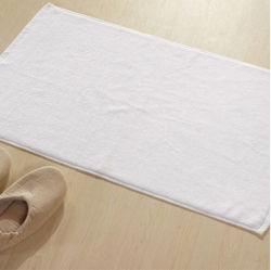 100%хлопок обычной белой отель ванны коврик пола полотенце