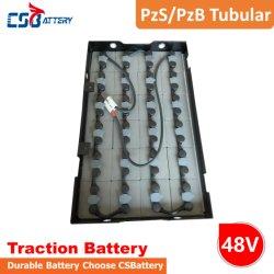交通機関かオートバイまたは自転車またはフォークリフトまたはトラック7pzb385/8pzb440/9pzb495/10pzb550のためのCsbattery Pzs/Pzbのフォークリフト電気自転車の管状のあふれられた電池