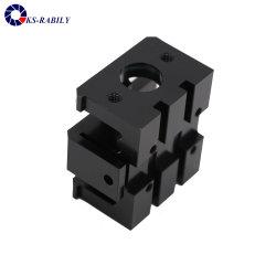 Mensuel d'usinage CNC de précision précise traite le bloc d'air, pièces de rechange Auto, pièce de rechange du moteur